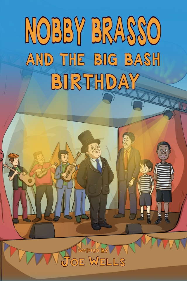 NOBBY BRASSO AND THE BIG BAS BIRTHDAY COVER 2018