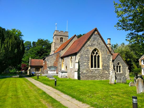North Mymms History Project: Virtual tour of St Mary's Church ...